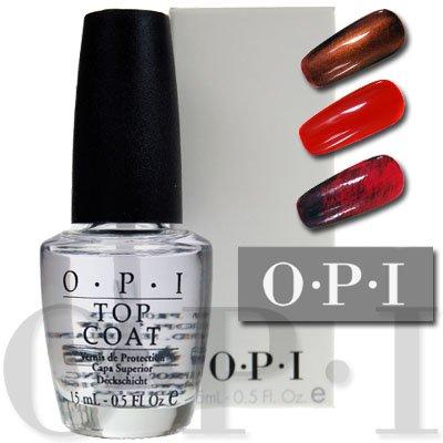 OPI Clear Top Coat Nail Varnish 15ml