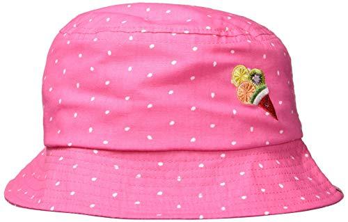 Rose Baby Hut (maximo Baby-Mädchen Hut Sonnenhut, Rosa (Pink Rose-Weiss-Tropfen 64), 47)