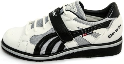 Do-Win weightlifting shoes 'Gong Lu II' (Power), UK 4-15, White/Black
