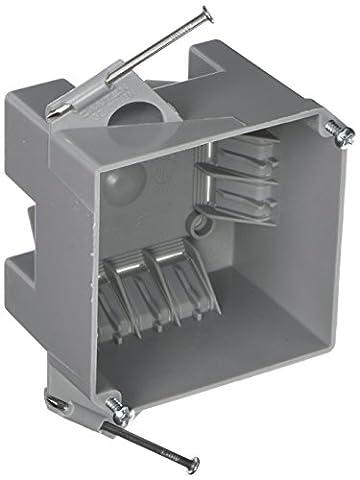 Hubbell-raco 7232rac profonde 2–5/20,3cm carré non métalliques câble électrique Boîte