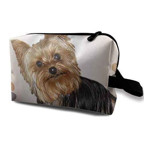 Hund braucht Training Multifunktionskoffer Kulturbeutel Reisemake-up Kosmetiktaschen