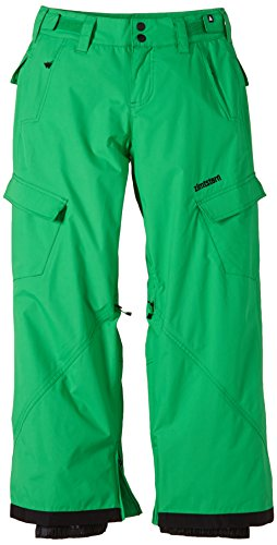 zimtstern-snow-kix-boys-trousers-green-green-sizem