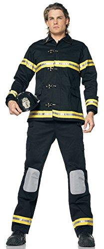 Karnavale erwachsenes Kostüm Feuerwehrmann
