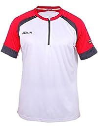 Siux Camiseta SUMPRA Blanca Y ROJA