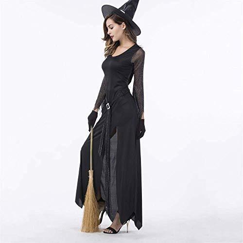 JUN Halloween Kostüme Frauen Halloween Hexe Posing Cosplay Uniform Seduction Female Adult (Female Adult Kostüm)