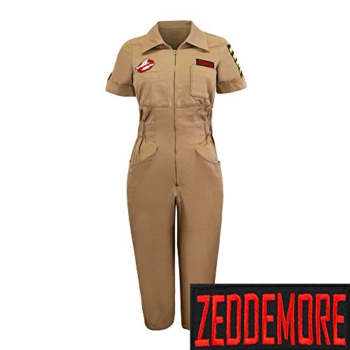re Costume Womens Romper Jumpsuit | XXL (Ghostbuster Jumpsuit)