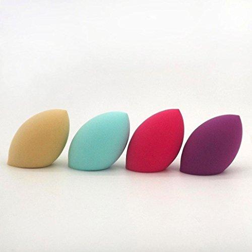 Tonsee 1pc maquillage Pro Fondation beauté impeccable Olives éponge Puff Couleur aléatoire