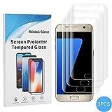 Weinstock-Science |3D 3X Schutzfolie für Samsung Galaxy S7 Edge | Schutzfolie, Bildschirmfolie, Folie, Bildschirmschutzfolie