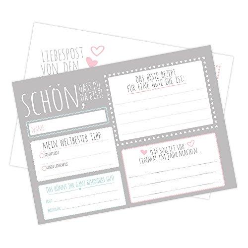 Postkarten Für Hochzeit Was Einkaufende