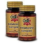 Melatonina 1 mg. 60 compresse complesse con passiflora, papavero californiano, melissa, lime e valeriana (confezione 2 u.)