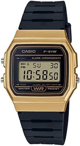 Casio Unisex Adult Watch F-91WM, Bracelet