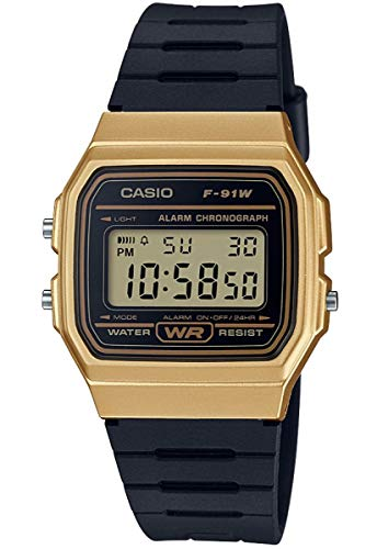 Montre Mixte Casio Collection F-91WM-9AEF