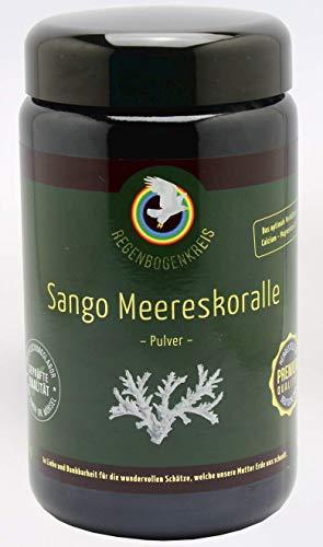 Regenbogenkreis Sango Meereskoralle Pulver Violettglas 100g - (20,99 € / 100 g)