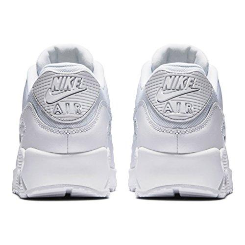 Nike Air Max 90 Essential, Herren Sneakers, Weiß (White/white-white-white), 43 EU (8.5 Herren UK) - 3