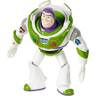 Mattel GGX33 - Toy Story 4 Buzz Lightyear Figur, 17 cm Spielzeug Action Figur ab 3 Jahren