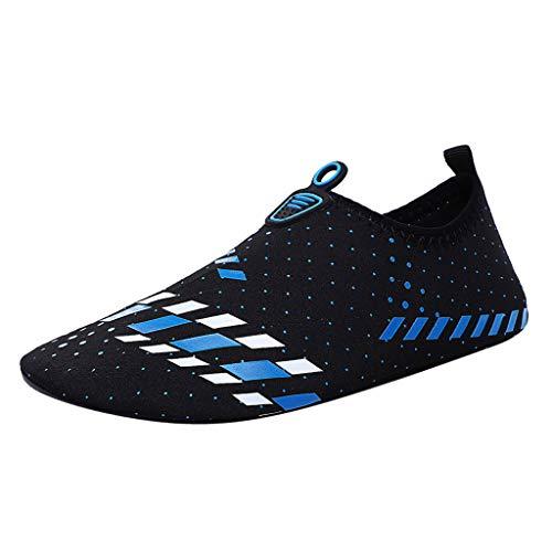 FeiBeauty Sommer Unisex Wasserschuhe Surfschuhe Schwimmschuhe für Damen Herren Rutschfeste Neoprenschuhe Rutschfeste Aquaschuhe Yoga Socken Schuhe -