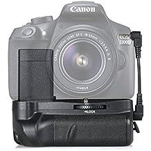 samtian batería empuñadura battery Grip para Canon 1100d/1200d/1300d/EOS Rebel T3/T5/T6/EOS KISS X50DSLR Cameras