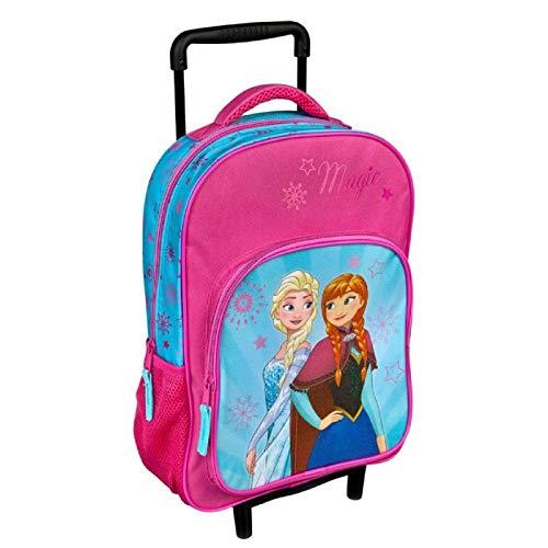 Kinder Trolley Kindergepäck Reisekoffer mit Packriemen und Rollen/Kids Trolley Kinder Reise-Tasche Disney Eiskönigin Frozen