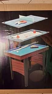 Billard US, table hockey et ping pong mini