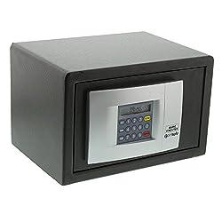 Burg-Wächter Möbeltresor mit elektronischem Zahlenschloss, Wand- und Bodenbefestigung, PointSafe P 1 E, Schwarz