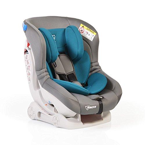 Kindersitz Aegis Gruppe 0/I (0 - 18 kg), Rückenlehne verstellbar, LM309 (grau türkis)