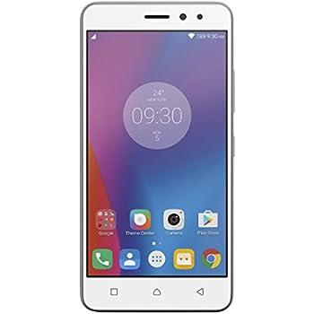 Lenovo K6 Smartphone Dual SIM, Display 5 Pollici, LTE, Fotocamera 13 MP, Memoria 16 GB, 2 GB RAM, Argento [Italia]