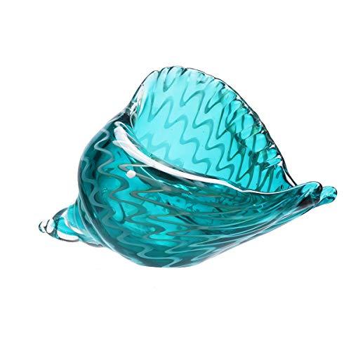ChaRLes Hand Geblasen Glas Murano Kunst Muschel Muschel Skulptur Ozean Figuren Home Room Dekorationen (Glas Rohre Geblasen)