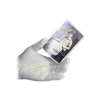 Archival Methods White Nylon Gloves Medium, Package of 12 by Archival Methods