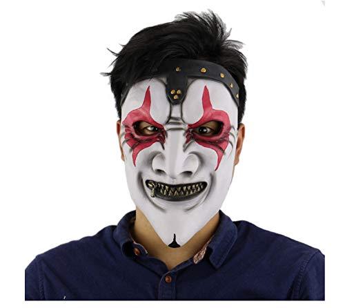 Kostüm Mund Reißverschluss - wanjuna Halloween Horror Kostüm Party Requisiten Band Masken Reißverschluss Mund Terror Zombie Maske Kostüm Latex Maske Für Erwachsene