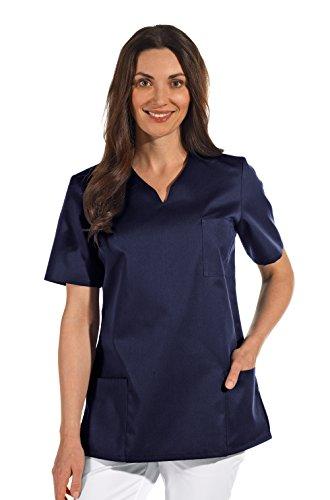 clinicfashion 12612049 Schlupfhemd dunkelblau für Damen, Mischgewebe, Größe M