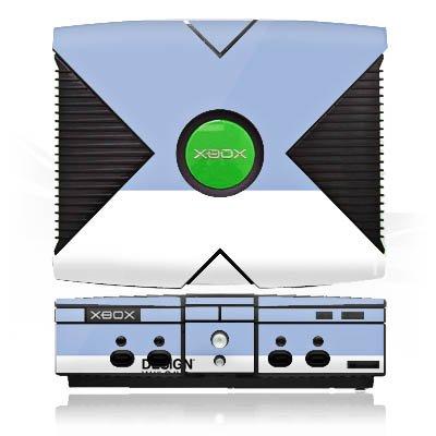 microsoft-xbox-case-skin-sticker-aus-vinyl-folie-aufkleber-pantone-pastell-blau