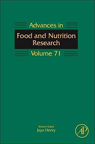 [(Advances in Food and Nutrition Research: Volume 71)] [Series edited by Jeya Henry ] published on (April, 2014)
