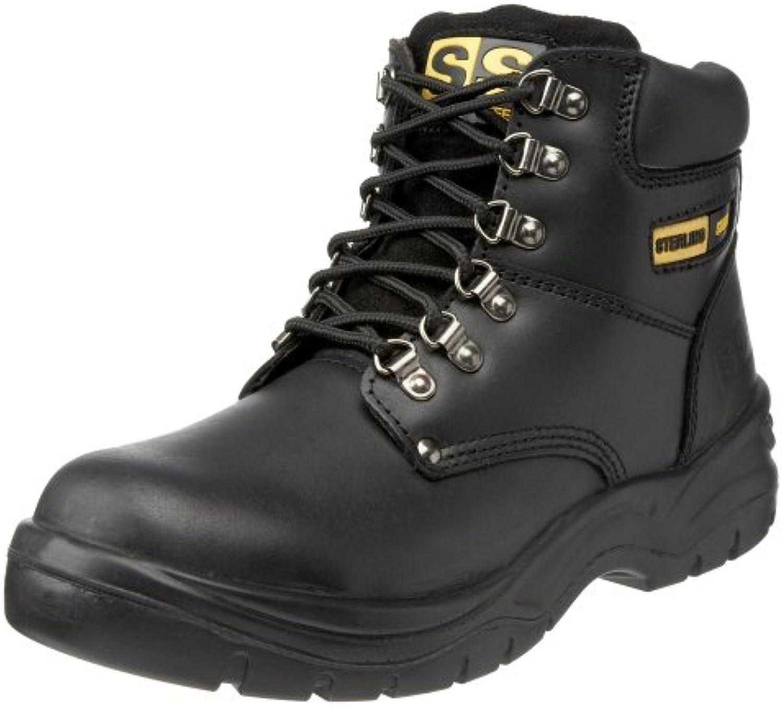 Sterling Safetywear Steel  Herren SicherheitsstiefelSterling Safetywear ss806sm Sicherheitsstiefel schwarz Billig und erschwinglich Im Verkauf