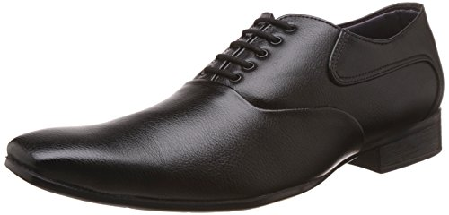 Bata Men\'s Black Formal Shoes - 8 UK/India (42 EU)(8216294)