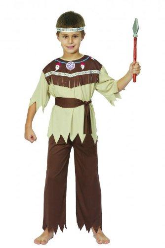 Kind Indian Brave Kostüm (Indian Brave Kinder Kostüm)