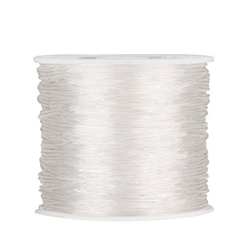 1 mm Hilo Elástico Transparente Cuerda Fabricación