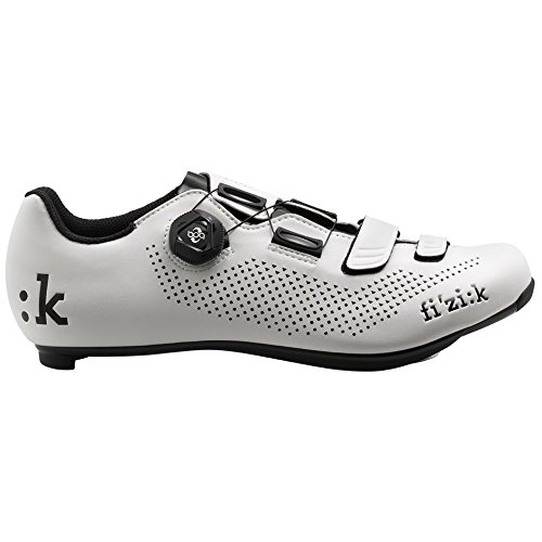 Fizik R4B Rennradschuhe Herren weiß/schwarz Größe 43 2018 Spinning-Schuhe MTB-Shhuhe