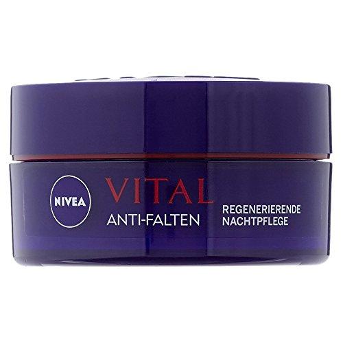 Nivea Vital Anti-Falten Regenerierende Nachtpflege, 1er Pack (1 x 50 ml)