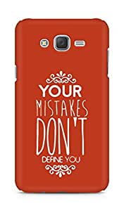 AMEZ your mistakes dont define you Back Cover For Samsung Galaxy J7