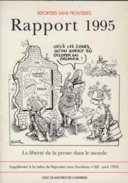 rapport 1995/la liberte de la presse dans le monde par Reporters sans frontières