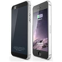 IPhone 5 5s SE Receptor Inalambrico Caso, Rhidon iPhone 5 5s SE Qi Inalambrico Cargador Caso Flexible Relámpago Conector