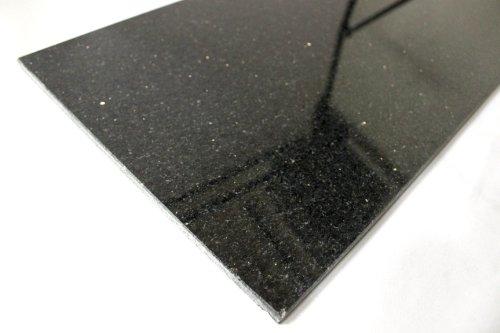 Black Galaxy Stone (BLACK GALAXY Fliesen Fliese Naturstein Boden Wand BLACK GALAXY 30,5cm x 61cm - 1 Paket)