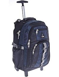 Trolley sac à dos à dos à roulettes Sac à dos d'écolier Cartable Chariot