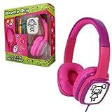 Kids Doodle Kopfhörer zum Selbermachen, Pink