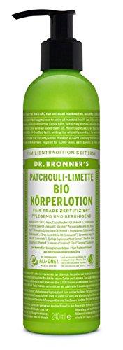 Dr. Bronner's - Bio KÖRPERLOTION - Pumpspender - 236 ml - Patchouli-Limette