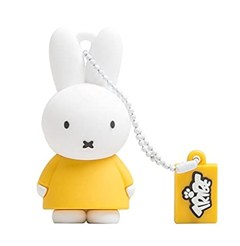 Tribe Miffy Clé USB 2.0 8 Go Jaune