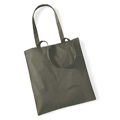 Westford Mill Shopping Bag For Life. Olive Green