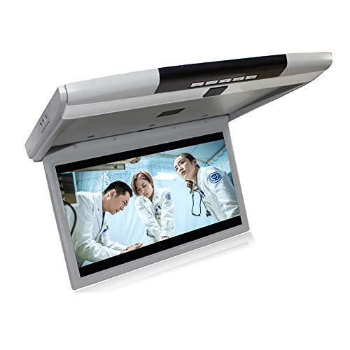 QSBY Auto-TV-Monitor Decke 17,3 Zoll Großbild HD 1080P Geeignet für WENN TF HDMI SD FM Kann an die Auto-DVD-Festplatte MP5 angeschlossen Werden (Auto-tv-dvd-monitore)