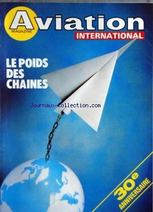 AVIATION MAGAZINE [No 777] du 01/05/1980 - TRENTE ANS - DE BRUXELLES ET DE WASHINGTON - FAITS ET COMMENTAIRES - AIR TRANSPORT - EVENEMENTS ET CONJONCTURE - NOTES - UNE INTERVIEW DE M YVON BOURGES MINISTRE DE LA DEFENSE - CELLULES - A LA RECHERCHE Dâ UNE DIETETIQUE - Lâ ARCHITECTURE DES AVIONS - UN ART FIGE - LA PROPULSION CÅ'UR DU PROBLEME - EQUIPEMENTS - UN BOND TECHNOLOGIQUE A MAITRISER - LE DIALOGUE HOMME-MACHINE - INGENIEURS - LA PENURIE SE PRECISE - CONSTRUCTION - UN MARIAGE AVEC Lâ INFORM