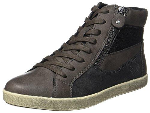 Jane Klain Damen 252 253 Hohe Sneaker, Grau (Graphite), 41 EU